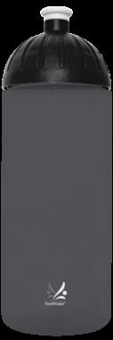 FreeWater Trinkflasche Logo klein 0,7l anthrazit