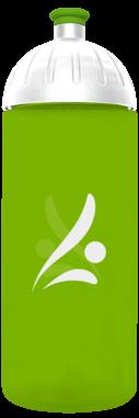 FreeWater Trinkflasche Logo 0,7l grün 376 transluzent
