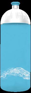 FreeWater Trinkflasche Wasser 0,7l türkisblau transparent