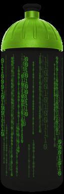FreeWater Trinkflasche Binärcode 0,7l schwarz