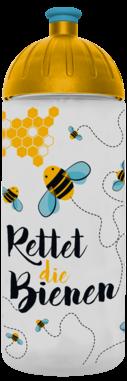 FreeWater Trinkflasche Rettet die Bienen 0,7l transparent
