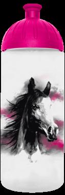 FreeWater Trinkflasche Pferd romantisch 0,7l transparent - magenta