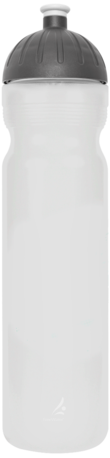 FreeWater Trinkflasche Logo klein, 1,0 l Transparent