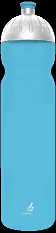 FreeWater Trinkflasche 1,0l Logo klein türkis