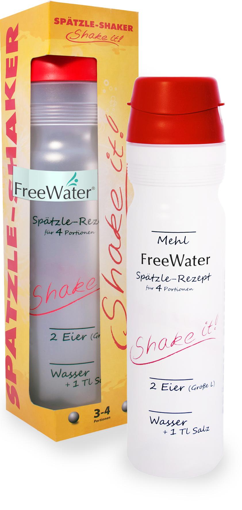 FreeWater Spätzleshaker 1,0l Transparent