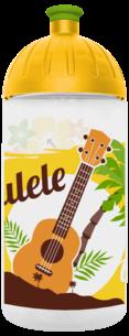 FreeWater Trinkflasche Ukulele 0,5l transparent