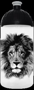 FreeWater Trinkflasche Löwe 0,5l transparent