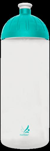 FreeWater Trinkflasche Logo klein 0,7l transparent